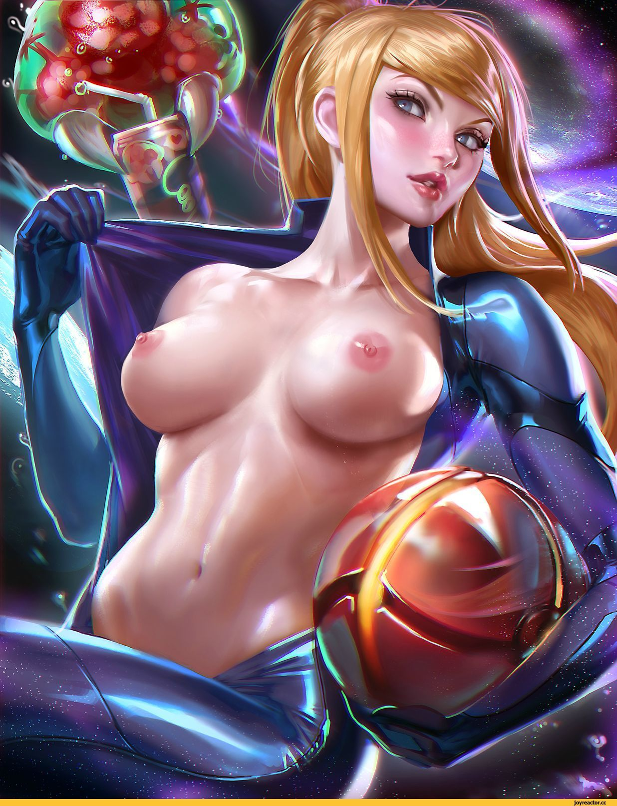 naked sexy samus aran with frends