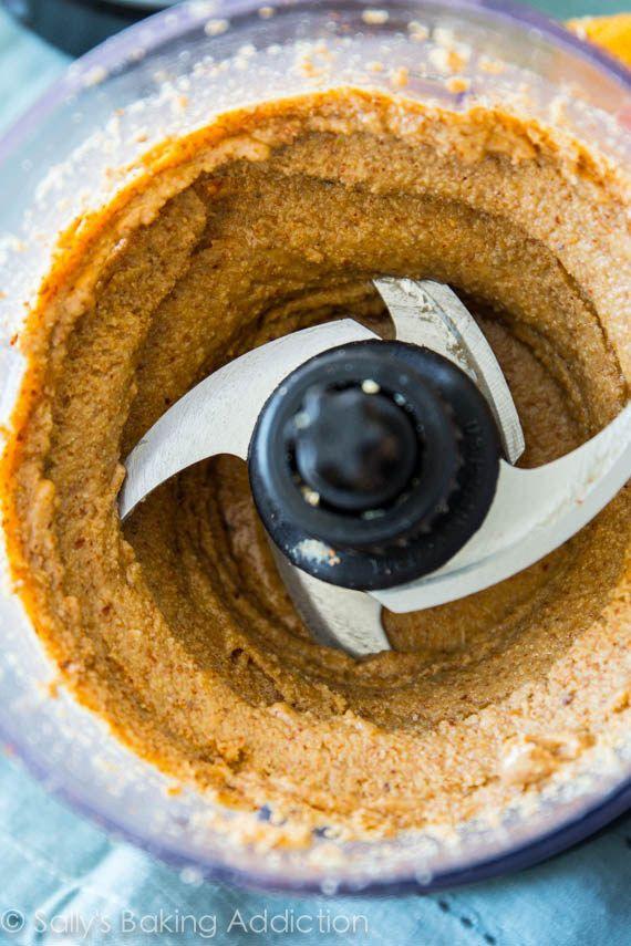 traumhafte Mandelbutter, die Du am liebsten direkt mit dem Löffel - kochen mit küchenmaschine