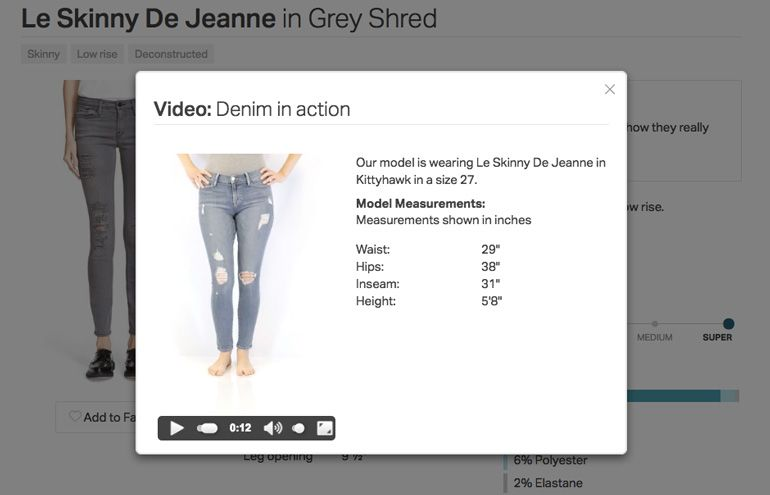 Jean Shopping With Fitcode