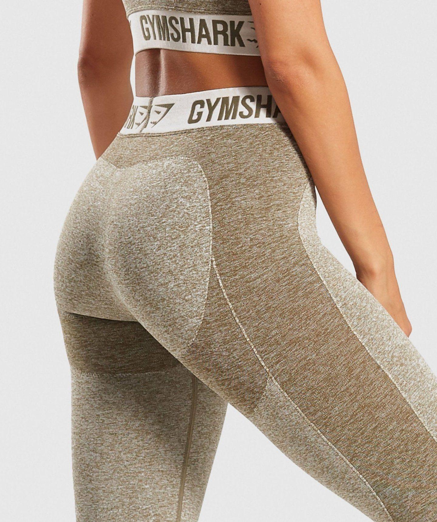 09185ffa Gymshark Flex Leggings - Khaki/Sand   Exercise   Gymshark flex ...