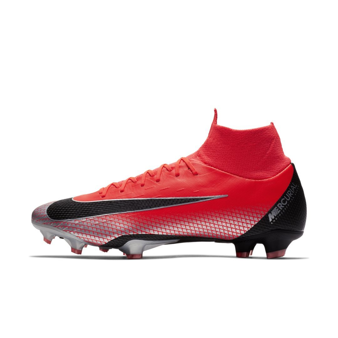 9a305b12f Nike Mercurial Superfly VI Pro CR7 Firm-Ground Soccer Cleat Size 8.5 (Bright  Crimson)