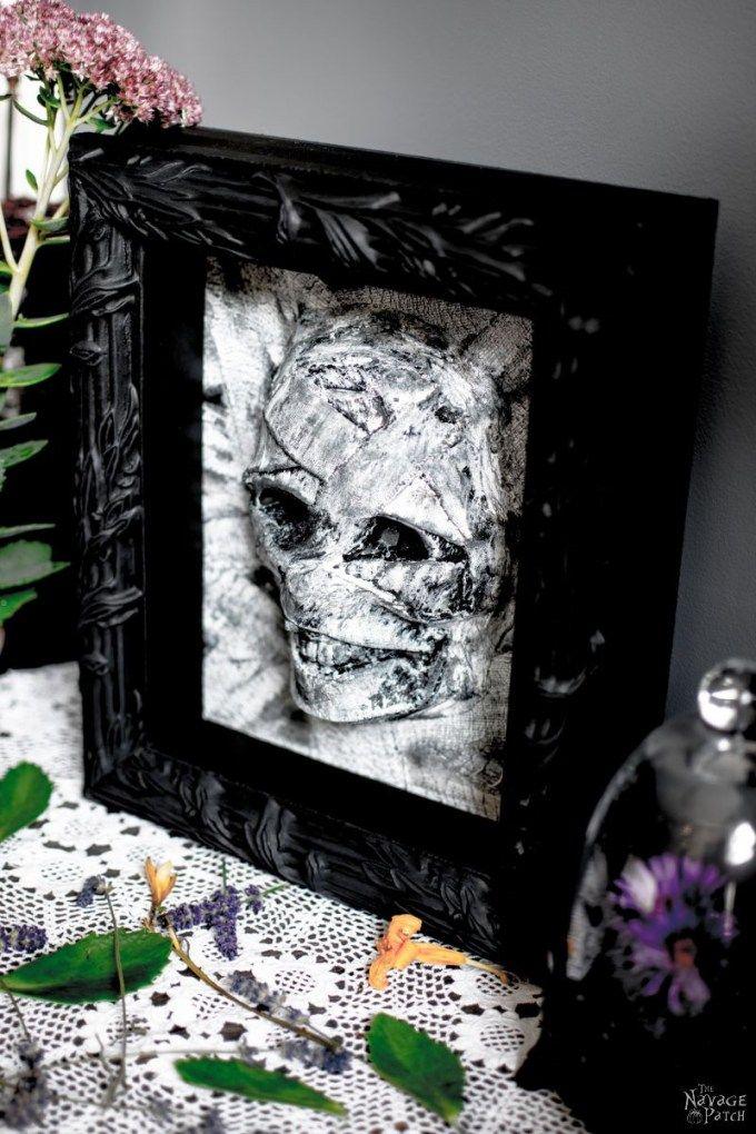 Dollar Store Halloween Mummy Decor Halloween Pinterest