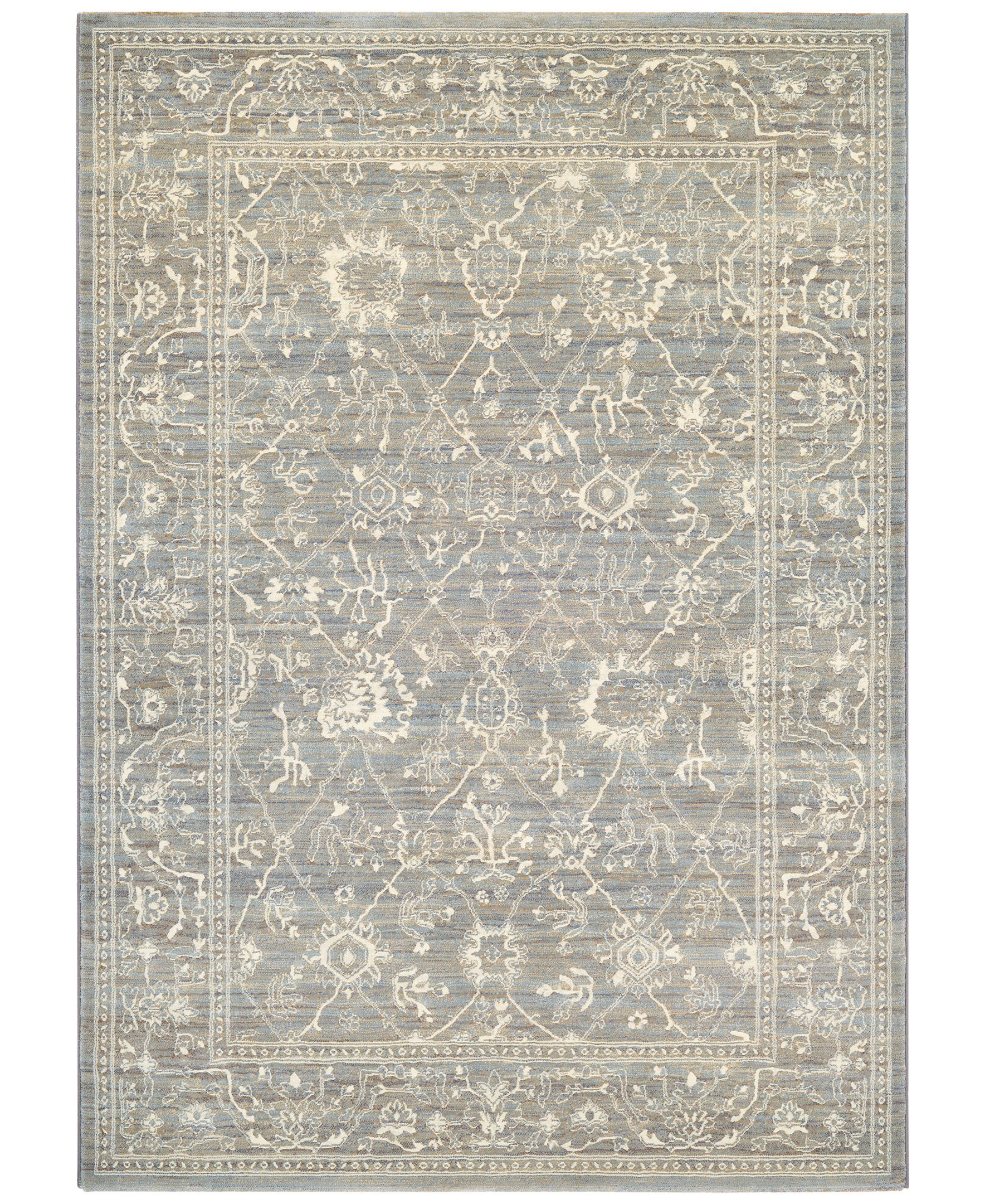 Couristan Mckinley Persian Arabesque Charcoal Ivory 3 11 Couristan Area Rugs Rugs