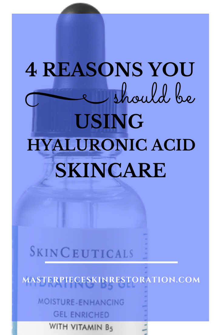 reasons you should be using hyaluronic acid skin care pinterest