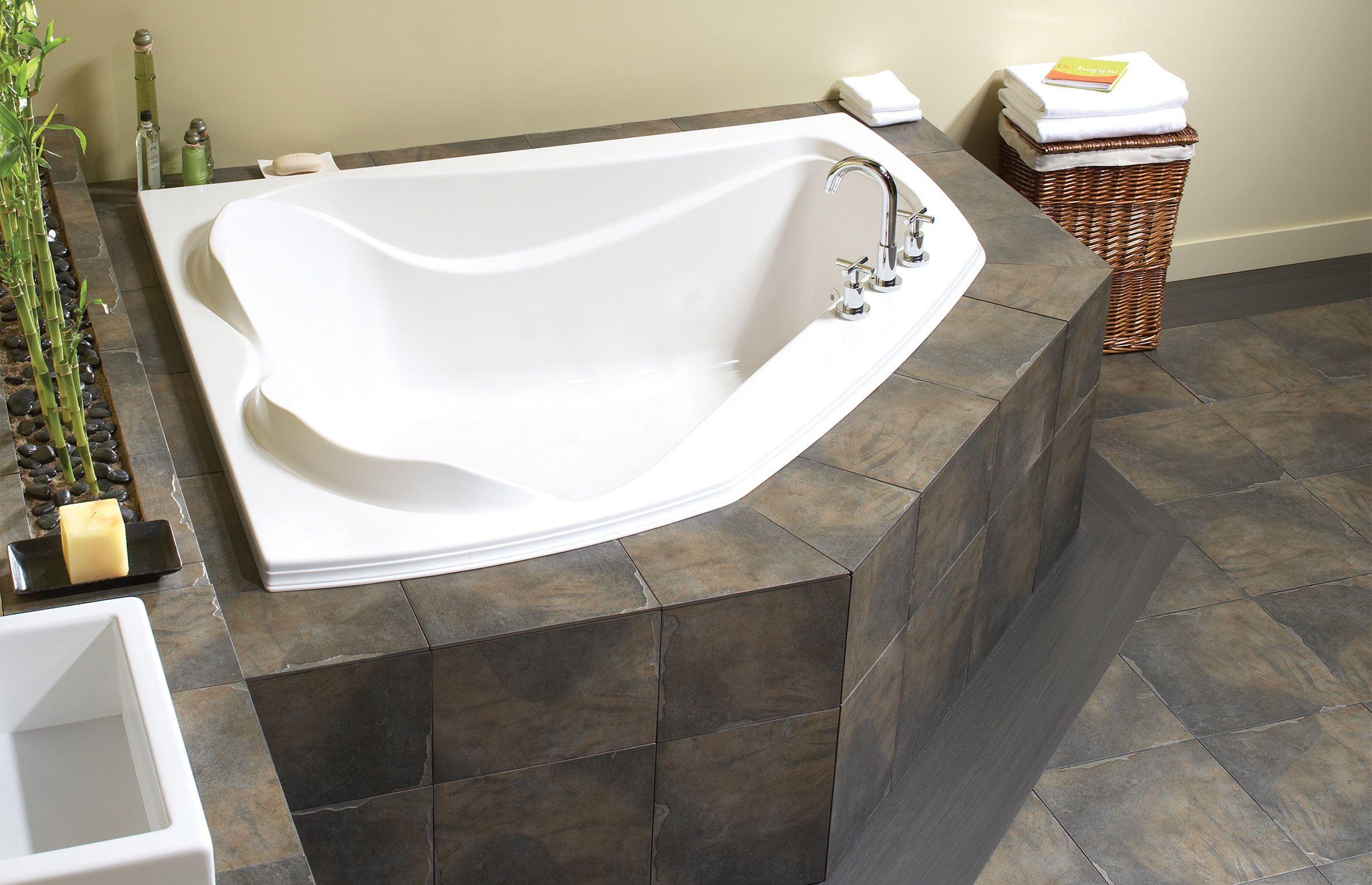 Cocoon 6054 Corner or Drop-in bathtub - Advanta by MAAX | Bathroom ...