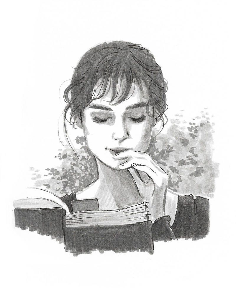 Pride and Prejudice - Pen/Ink by DylanBonner #prideandprejudice