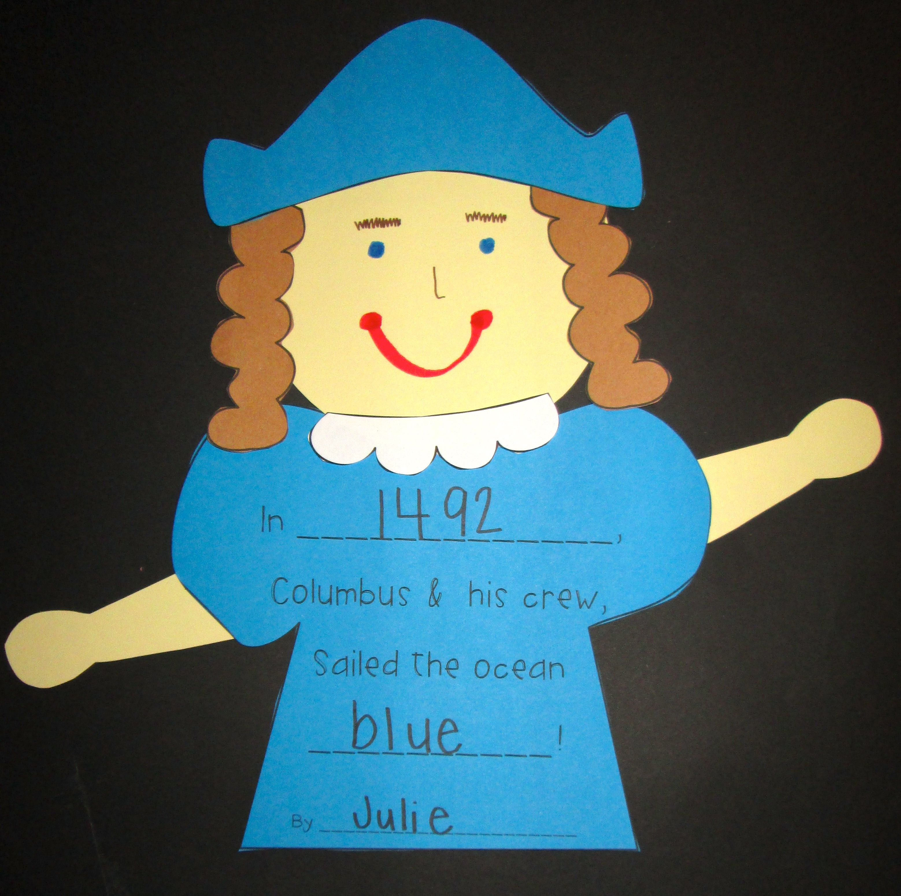Christopher Columbus Craft Christopher Columbus Craft Christopher Columbus Kindergarten Kindergarten Crafts