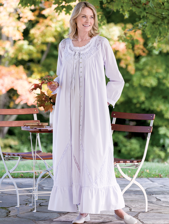 edcc0204 Eileen West Moonlight Sonata Cotton Robe | My Style | Cotton robe ...