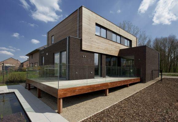 Brique Sans Joint  Bois  Apparence Maison    Joint