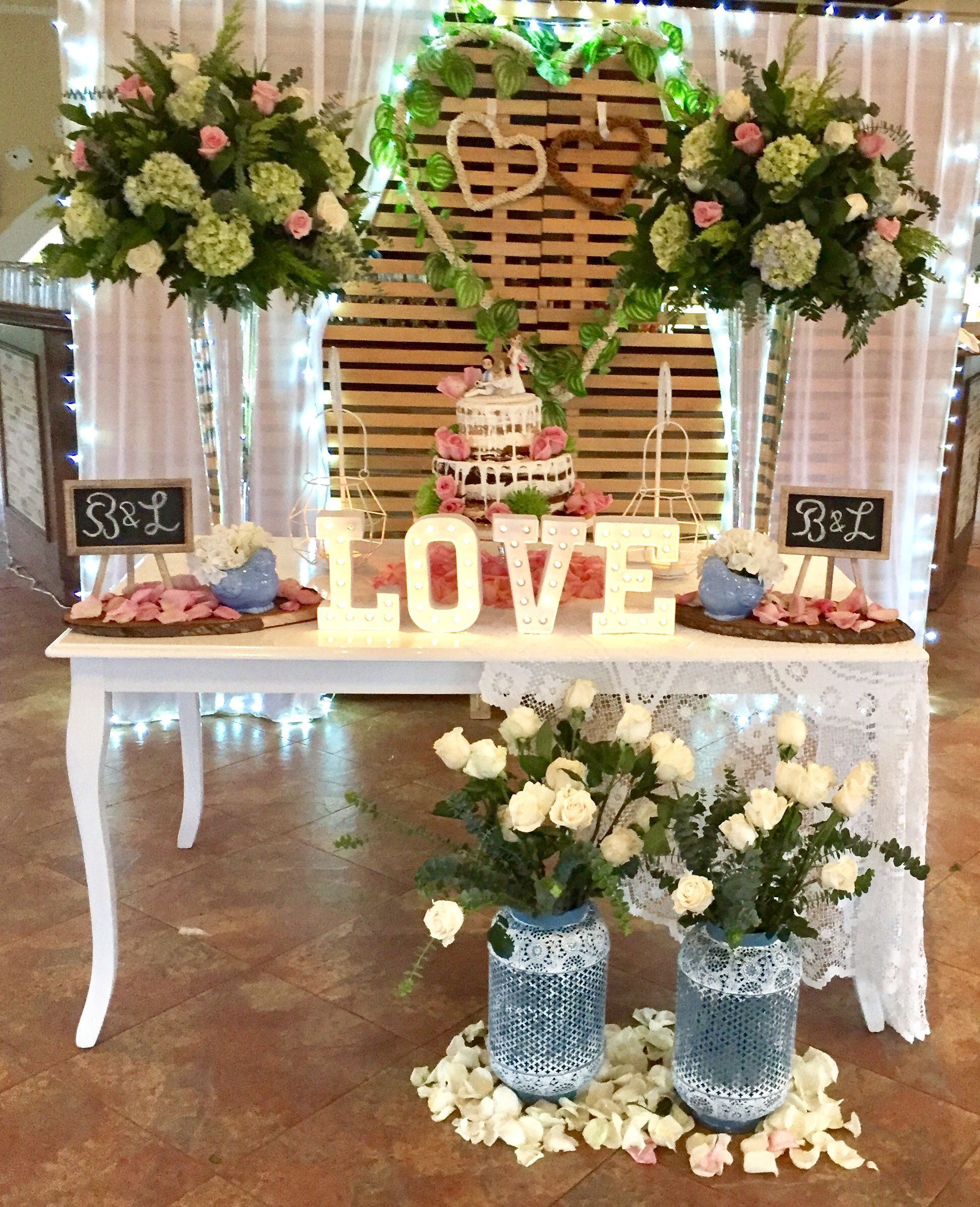 11 Decoracion de mesa para boda civil