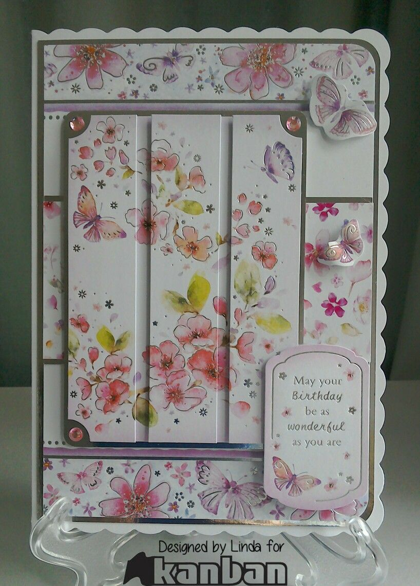 Kanban precious petals card ideas pinterest