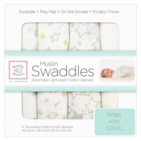 Swaddle Blankets Target Delectable $3499 At Target Swaddledesigns 4Pk Muslin Swaddle Blankets Review