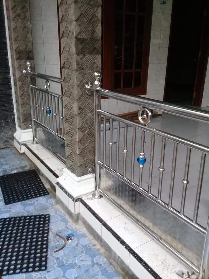 pagar rumah stainless steel