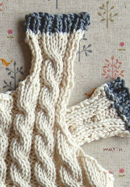 Cabled Baby Vest | Purl Soho - Create