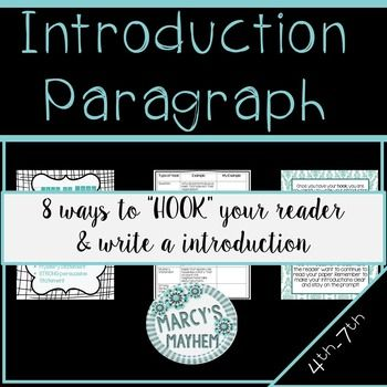 ways to start an introduction paragraph
