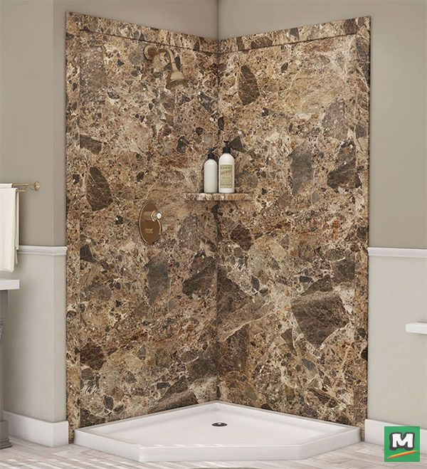 Add breathtaking design to your bathroom with this FlexStone ...