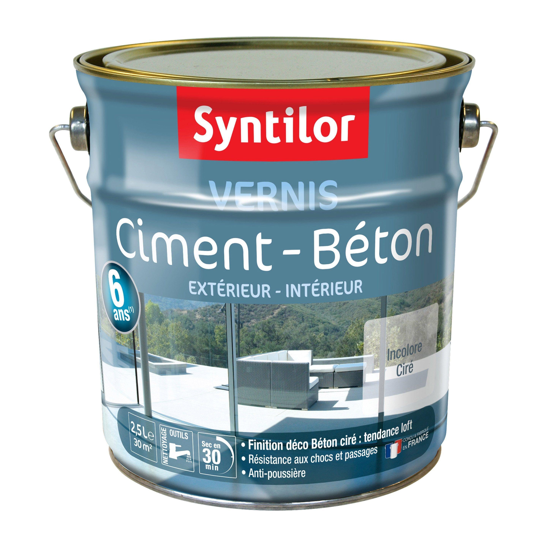 Vernis Ciment Extérieur Intérieur Ciment Syntilor