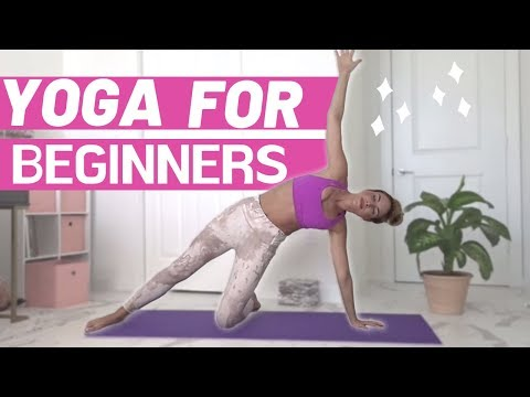 beginner yoga practice  easy 10minute routine you can