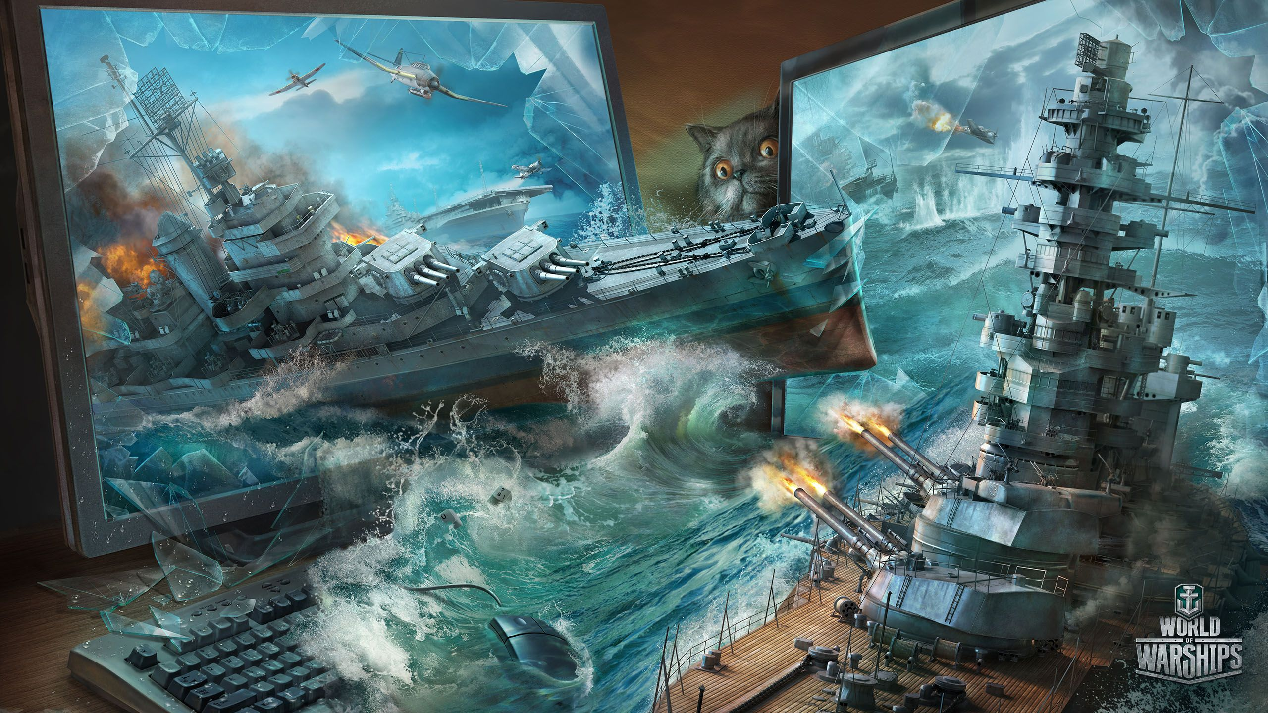 Worldofwarships Cats Catships With Images World Of Warships