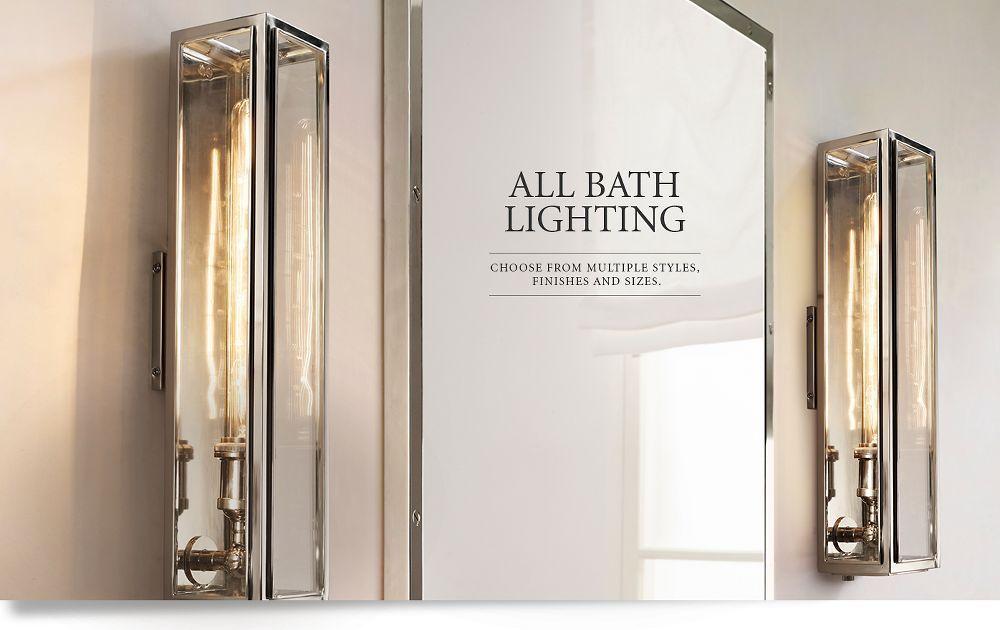 All Bath Lighting Pacific General Bath Light
