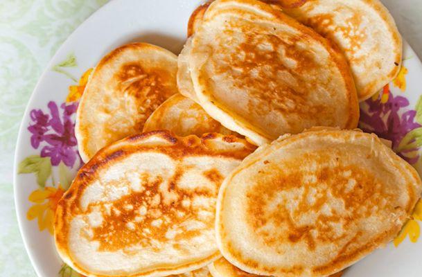 Oladi (Russian Pancakes) Recipe on Jspace Food