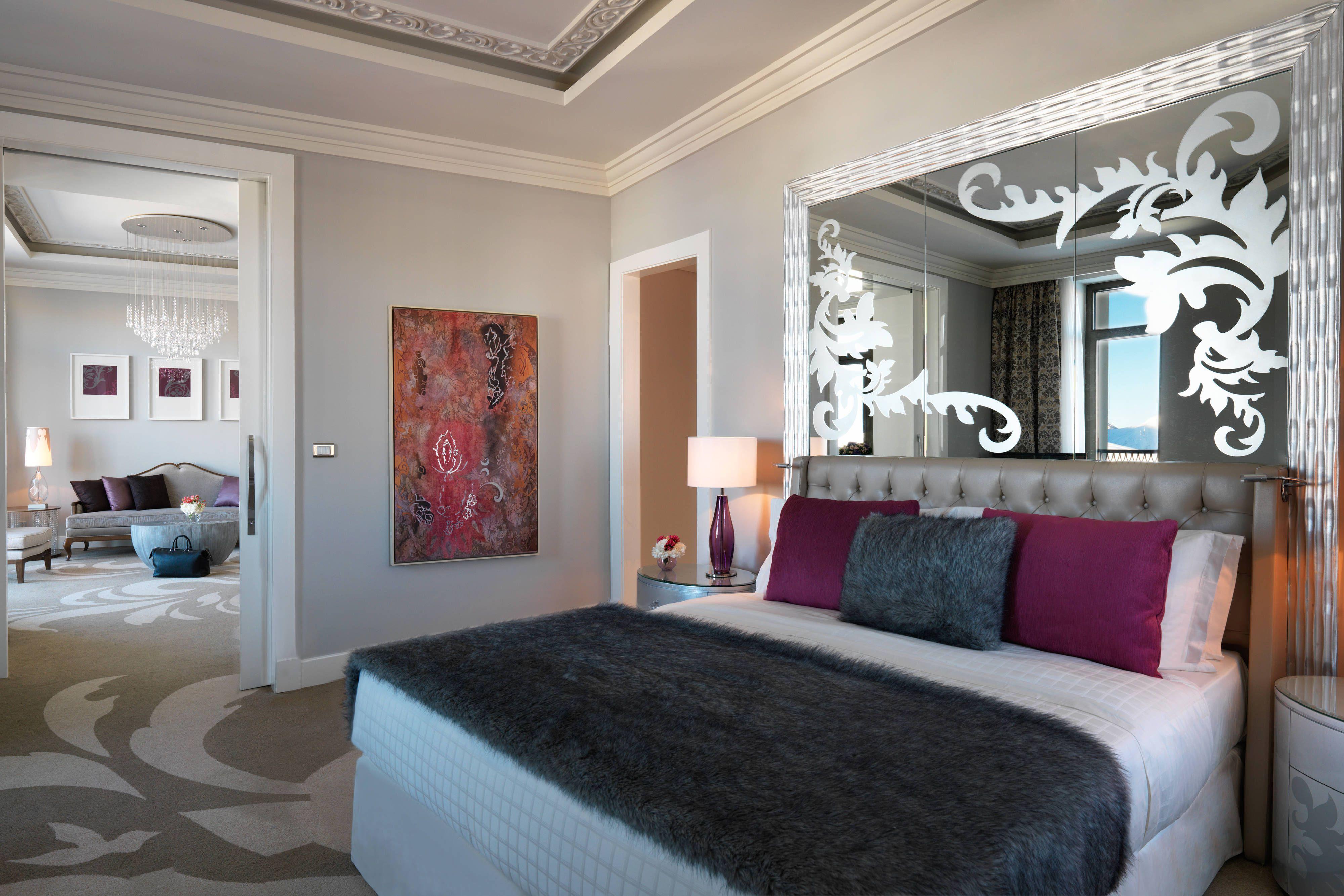 Pik Palace Shahdag Autograph Collection Executive Suite Bedroom