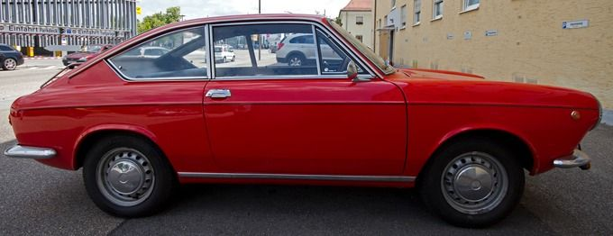 The Very Rare 1968 Fiat 850s Coupe When Did You Last See One