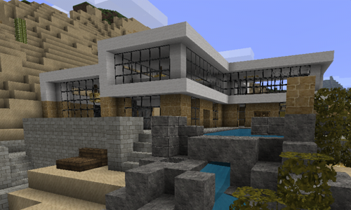 Modern Architecture House Minecraft gold house |  , minecraft statues, minecraft house pictures