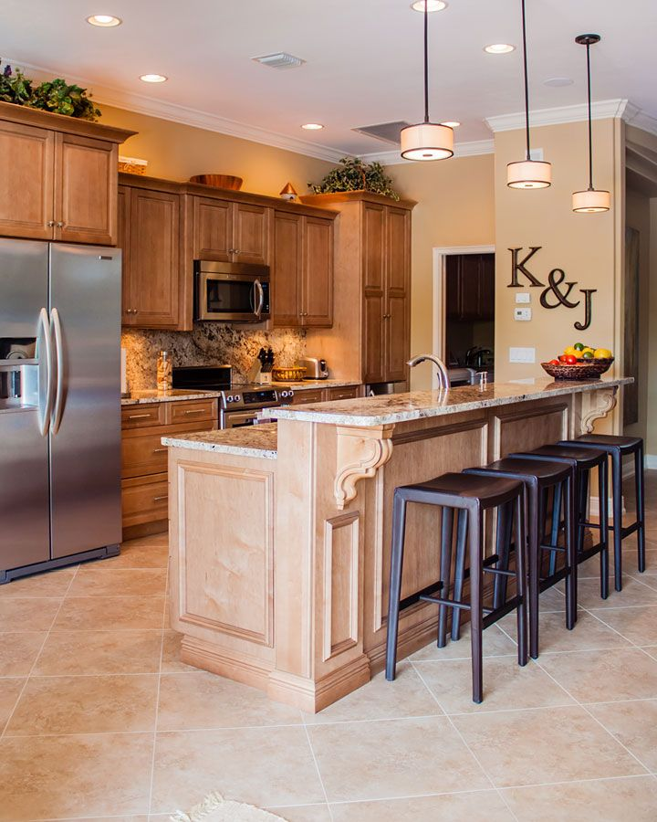 Kitchen Remodel #WoodCabinets #Traditional - Raised ...