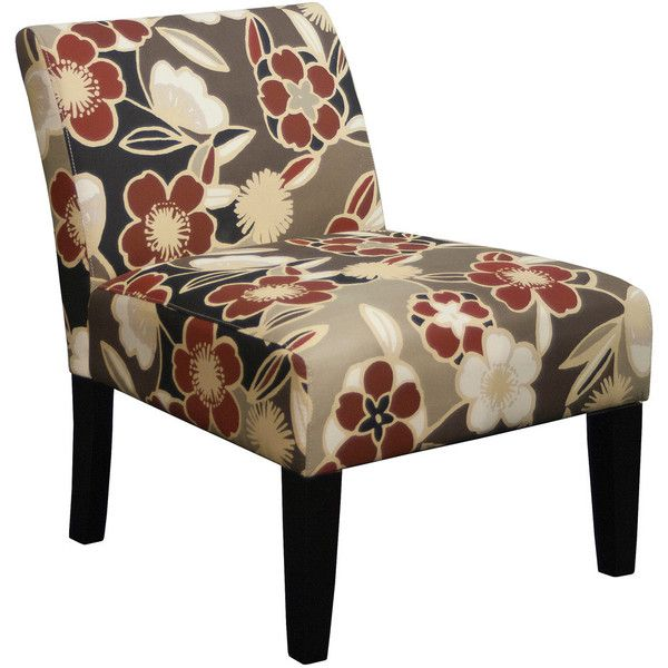 grafton home armless living room accent chair trendsetter red liked