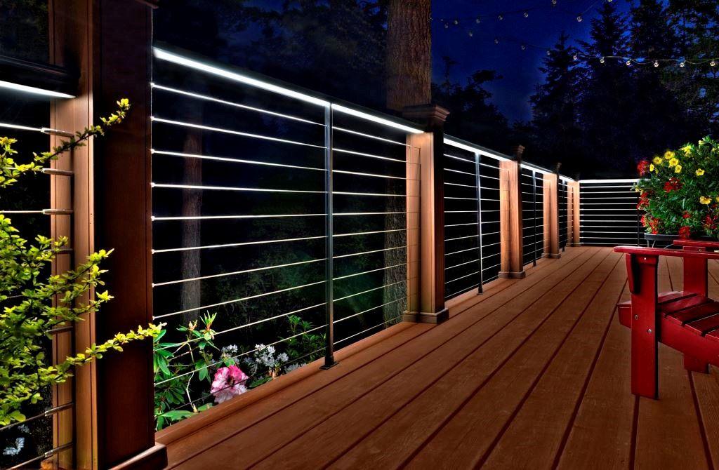 Feeney Led Deck Lighting Railings Outdoor Outdoor Deck Lighting