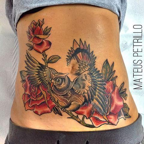 Image Result For Image Result For Flower Tattoo Designs Neck