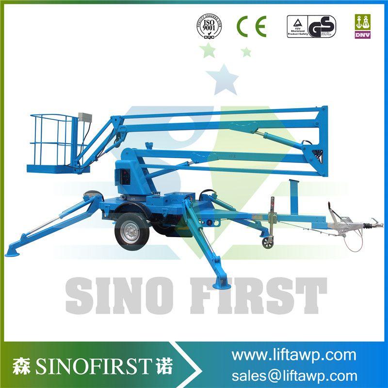 Best Selling Products Telescopic Boom Lift Truck Crane Boom Lift Auto Repair Truck Cranes