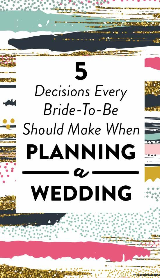 The First 5 Decisions Every Bride-To-Be Should Make When Planning A - fresh blueprint registry fees
