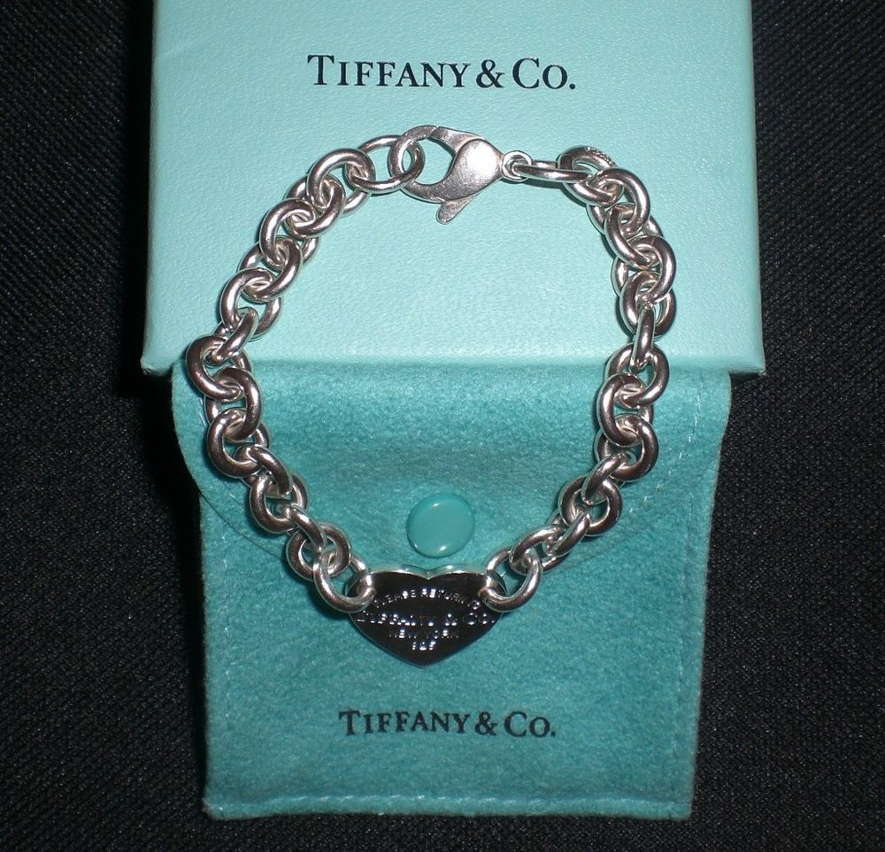 Electronics Cars Fashion Collectibles Coupons And More Ebay Tiffany Co Heart Charm Bracelet Tiffany Heart