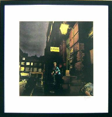 David Bowie Ziggy Stardust Limited Edition Autographed Print (195 copies) 2,195 $ bday from him b4 us