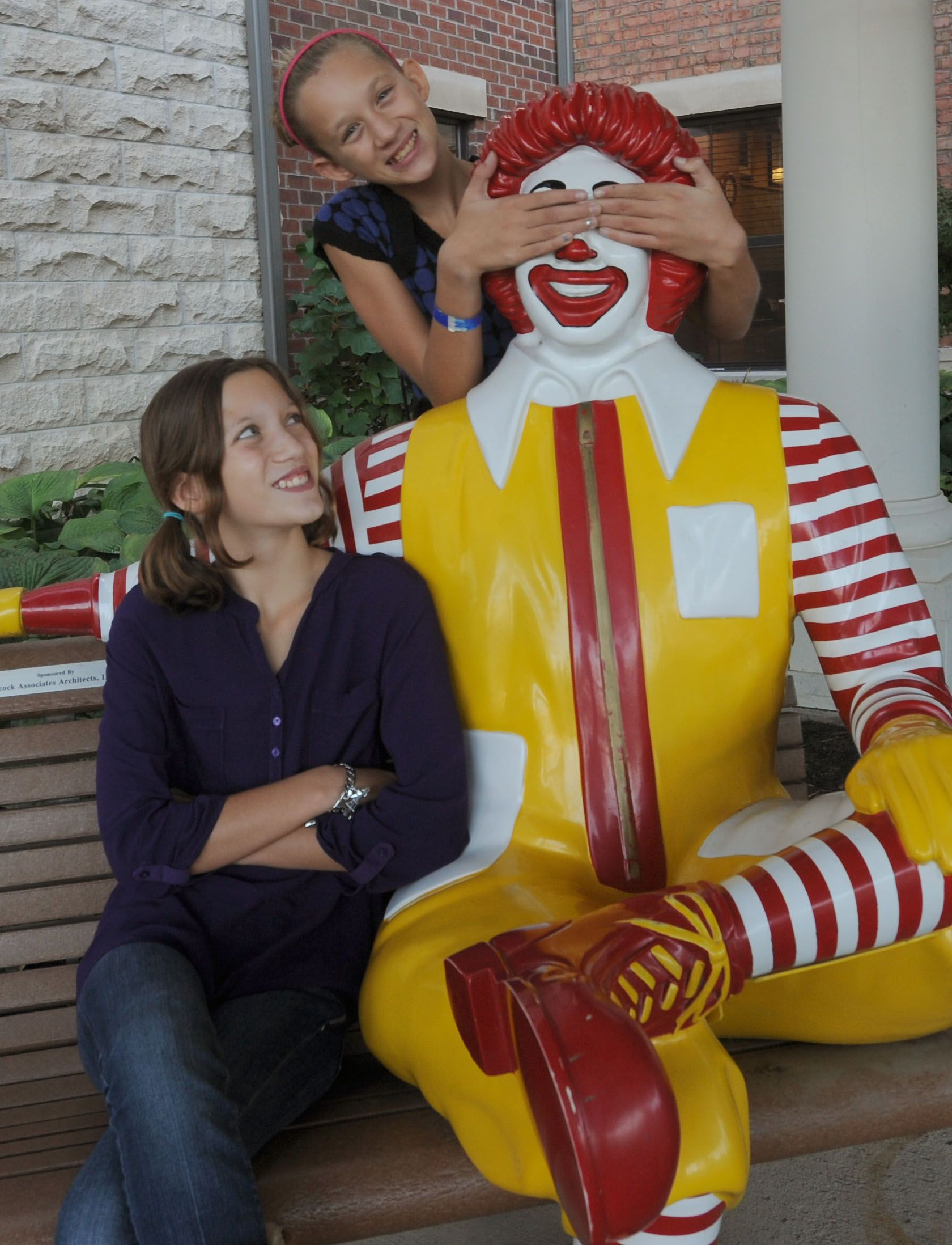 The Girls Had A Great Time At The Ronald McDonald House, Where We Shared A