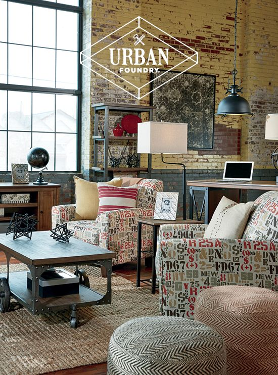 Urban Foundry™ Rustic Urban And Eclectic Home Accessories Poufs Simple Urban Foundry Pouf