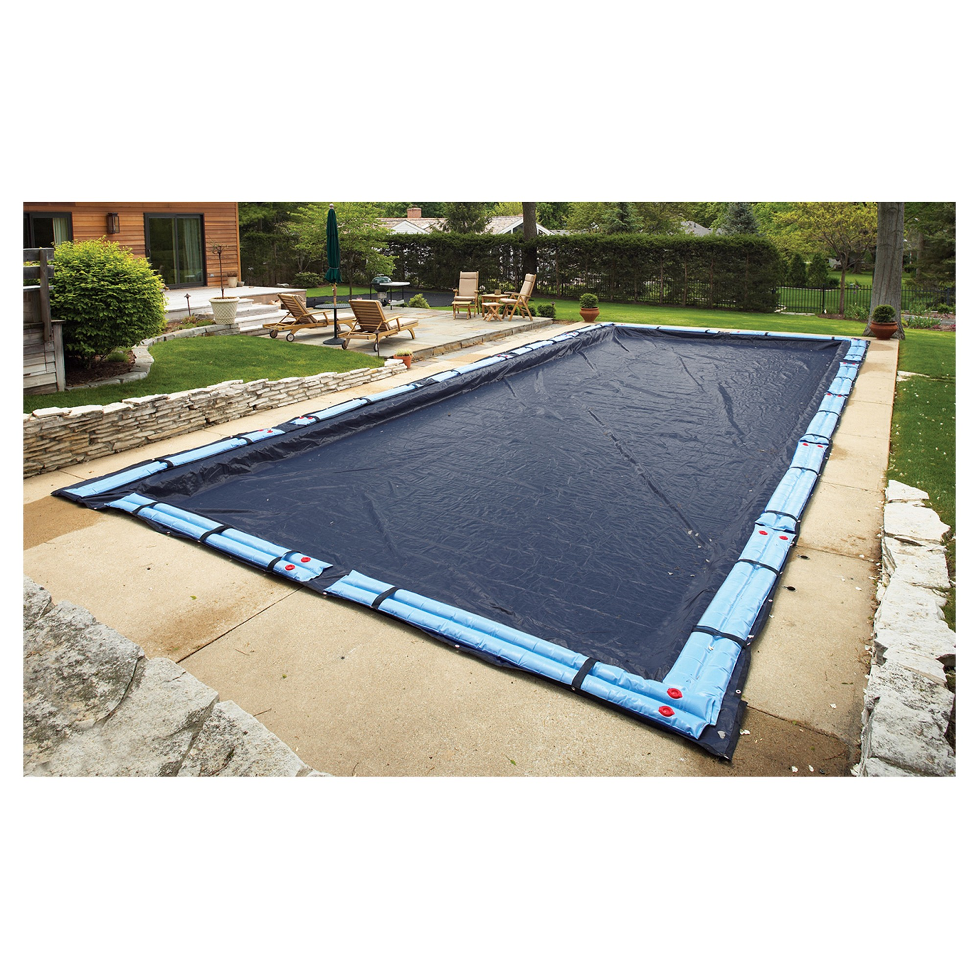 Above Ground Pool Winter Cover Arcticplex In Ground 20 X 44 Rectangular 8 Year Winter Cover