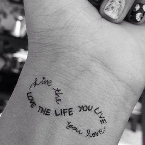 Tatuaże Napisy Na Rękę Nadgarstek I Ciało 20 Najlepszych