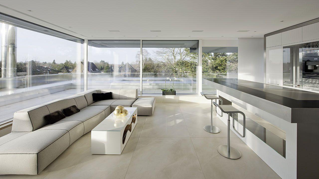 Rahmenlose schiebefenster absturzsicherung aus glas fenster windows t ren doors private - Bodentiefe schiebefenster ...
