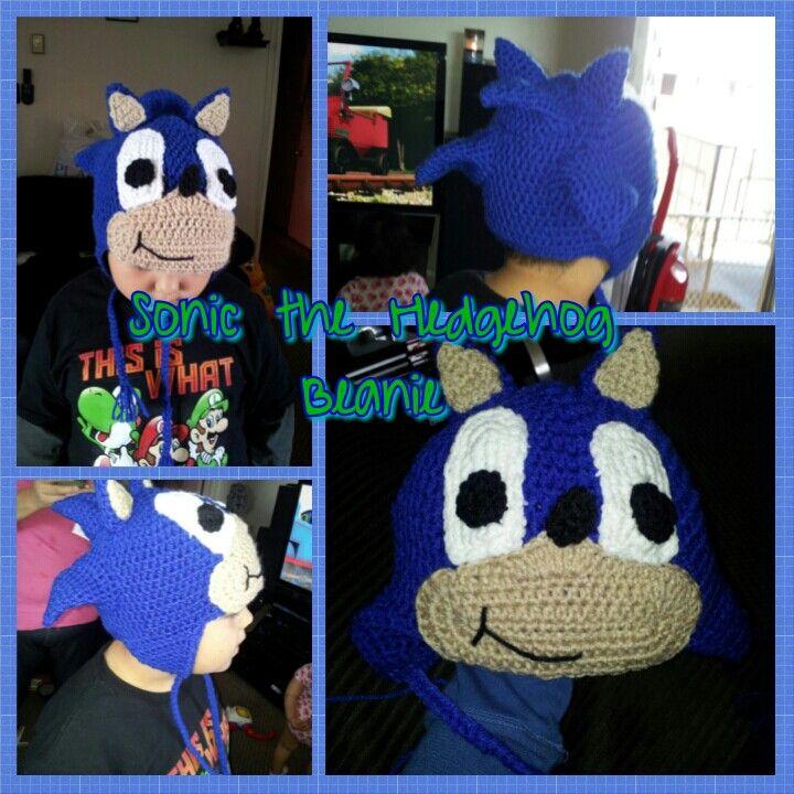 Sonic The Hedgehog Crochet Hat Crochet Hats Hats Crochet