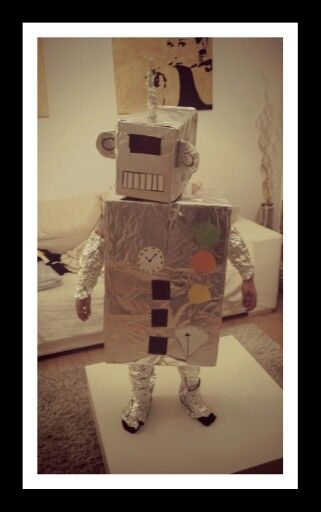 roboter kost m kinder basteln roboter kost me basteln mit kindern und basteln. Black Bedroom Furniture Sets. Home Design Ideas