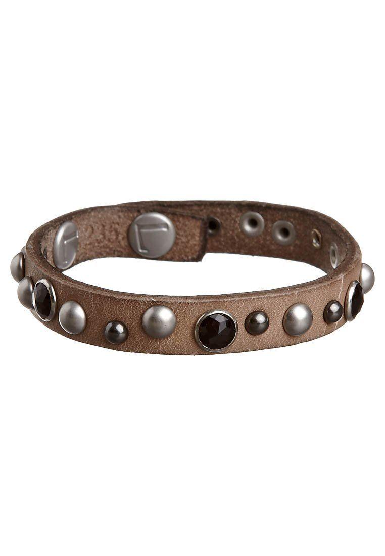 Liebeskind Bracelet Beige Zalando Co Uk Cuff Bracelets Leather