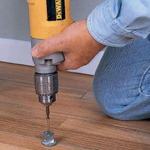 Fixing A Squeaky Floor Squeaky Floors Diy Home Repair Fix Squeaky Floors