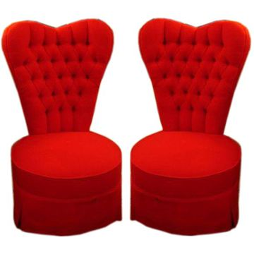 Exceptionnel Heart Shaped Chairs   Perfect For A Master Bedroom Or The Love/Relationship  Area Of Any Space!