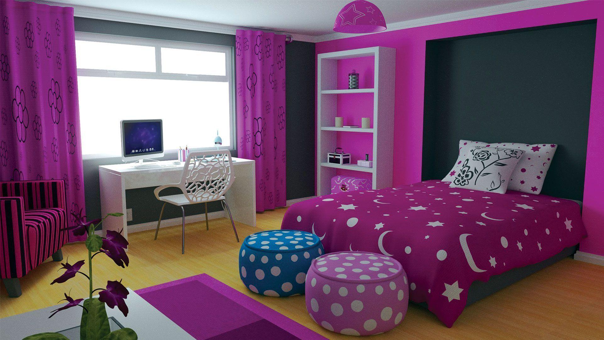Purple Bedrooms Cute S Bedroom Colors Elegant Pretty