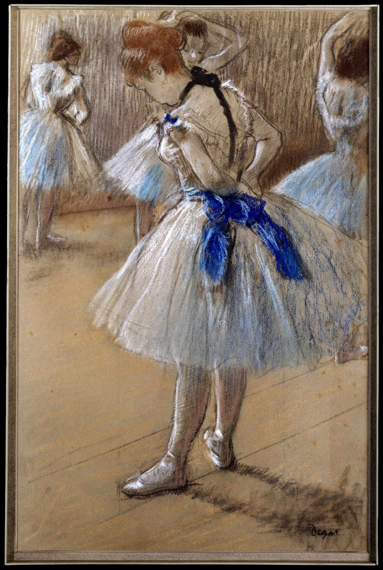 in degas dancers at the barre exhibition it s not often ...