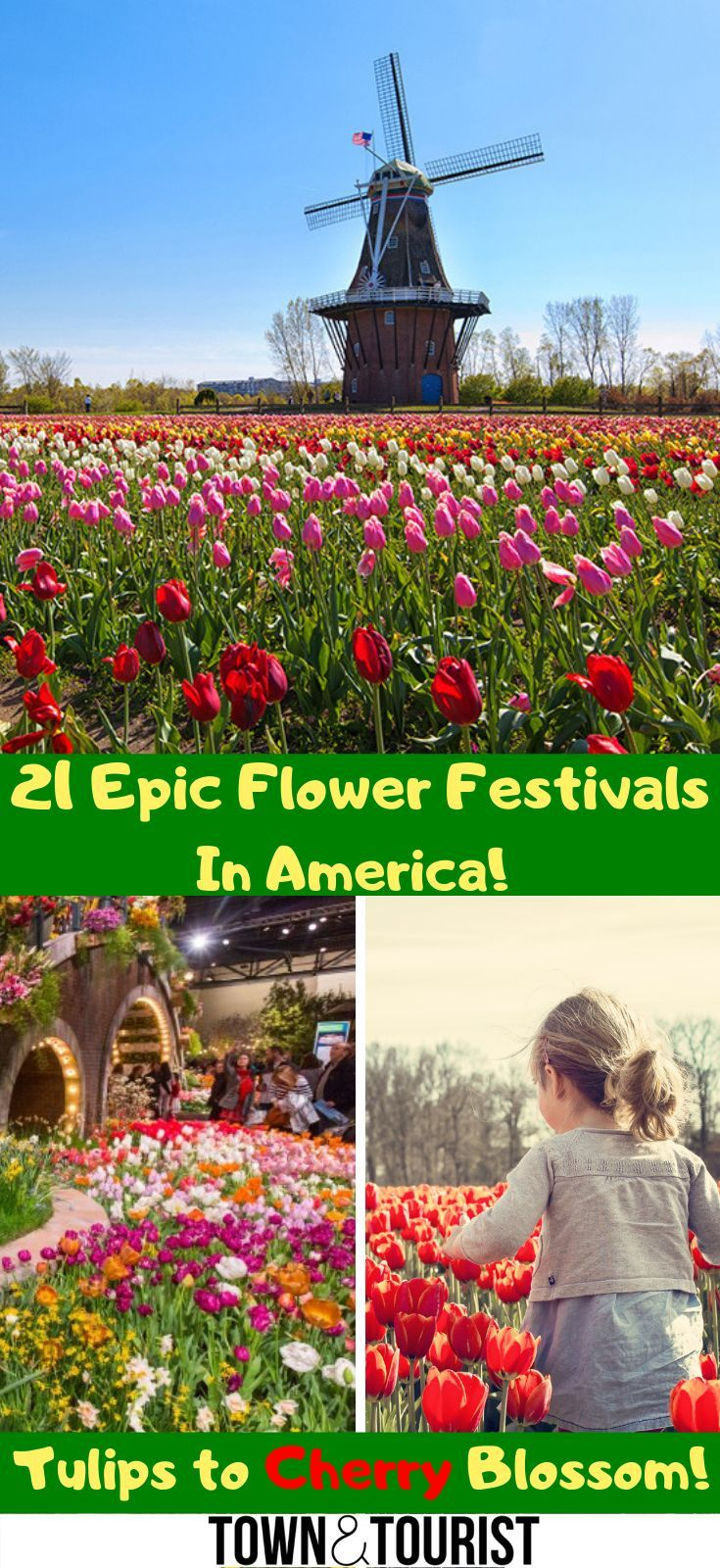 21 Epic Flower Festivals in America, Best Flower Shows USA