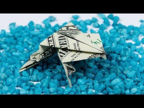 Photo of Money origami FROG 🐸 Dollar origami animal folding